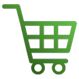 make your money work for you - shopping cart icon