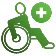 special needs - wheelchair icon